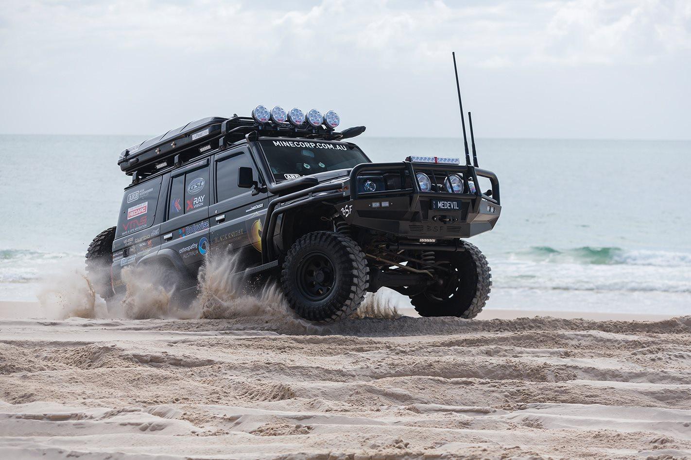 Video Custom Toyota Landcruiser Vdj76r 4x4 Australia