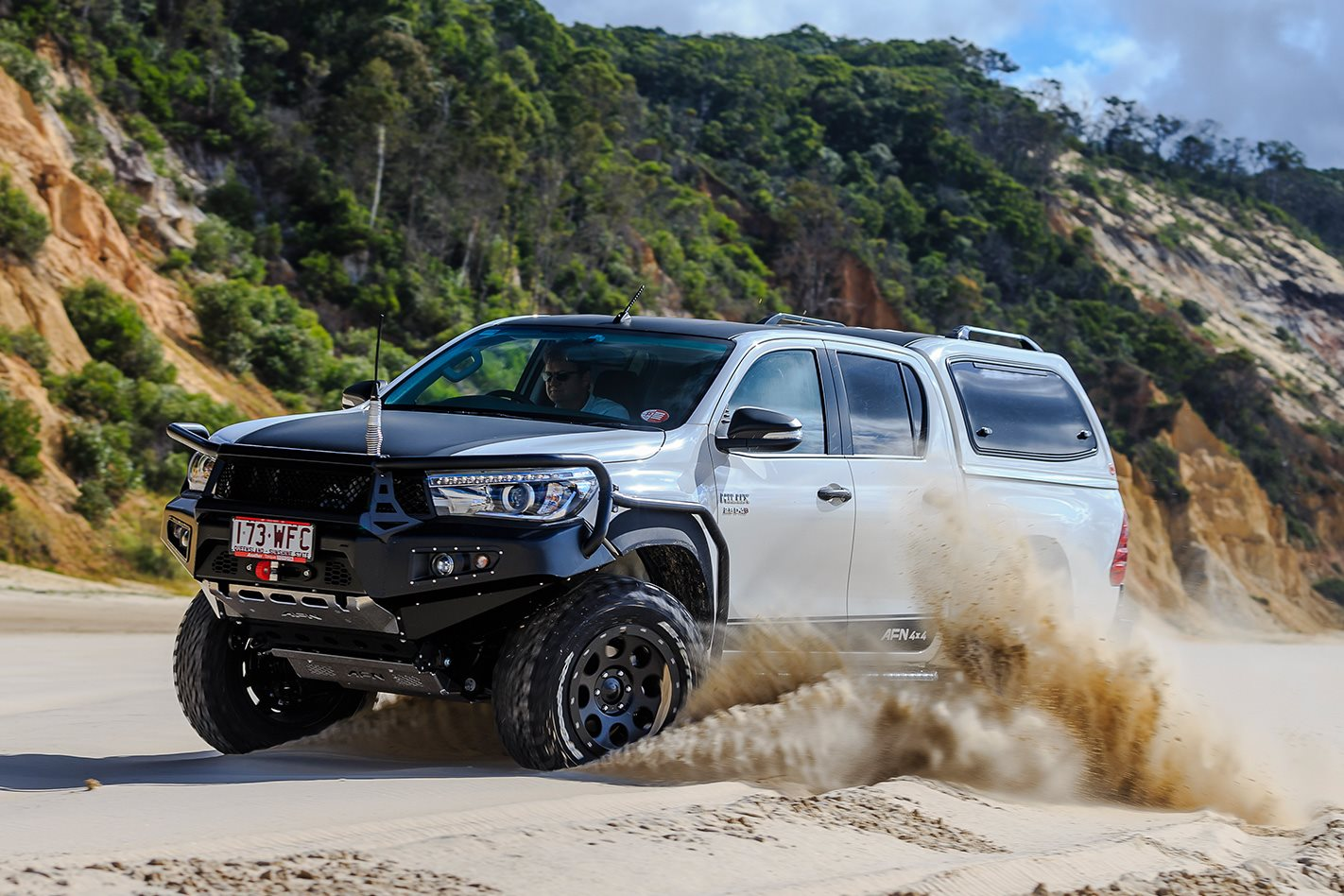 afn toyota hilux custom 4x4oty contender 4x4 australia. Black Bedroom Furniture Sets. Home Design Ideas