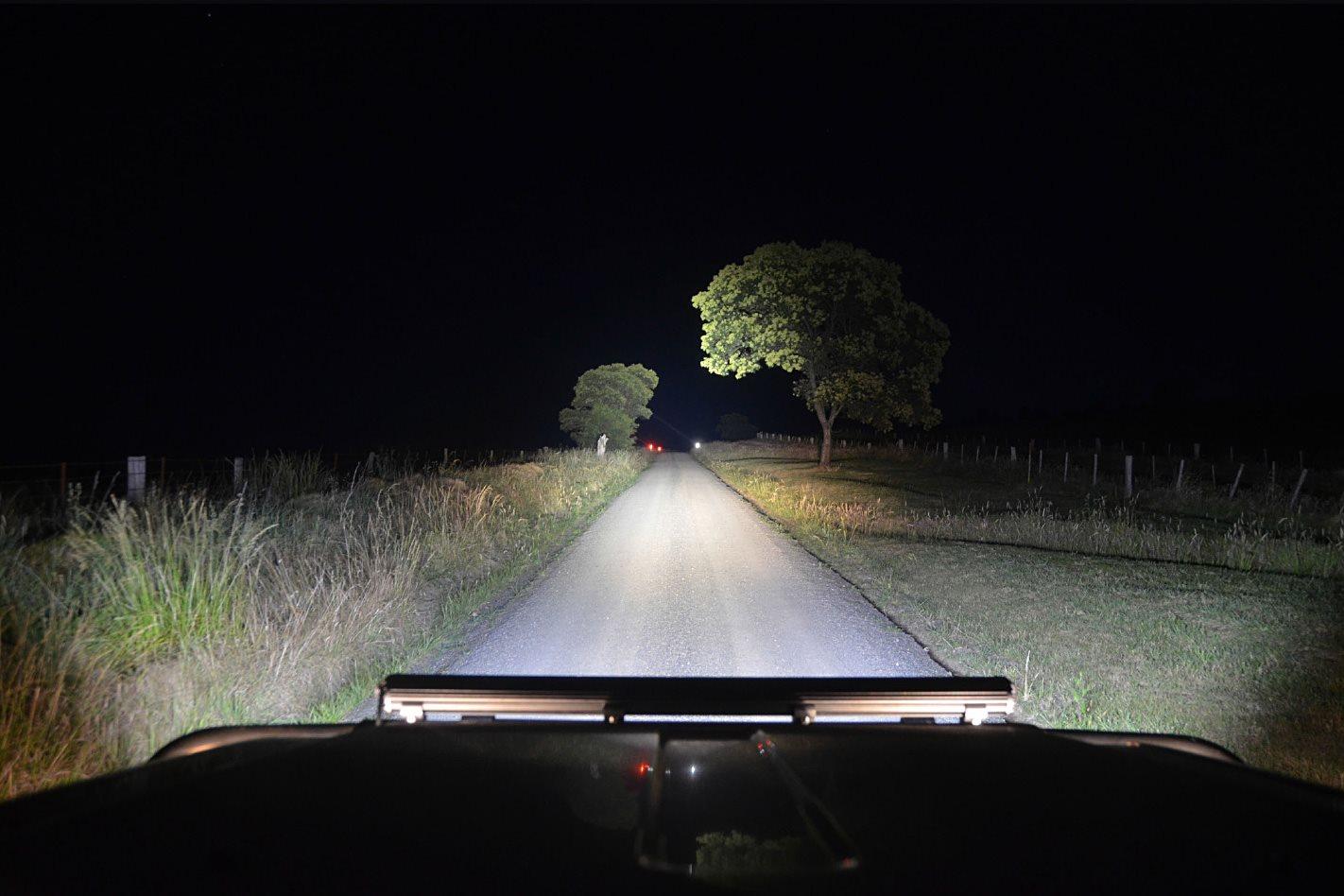 Halogen Vs Hid Vs Led Driving Lights 4x4 Australia