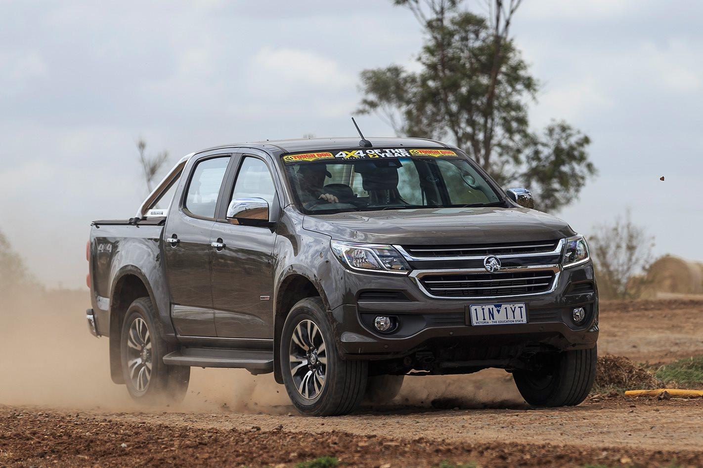 2017 4x4 Of The Year Finalist Holden Colorado 4x4 Australia