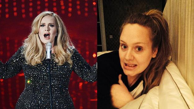 Adele S No Makeup Selfie And New Album Australian Women S Weekly