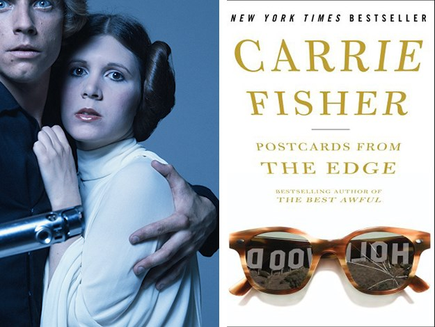 While Carrie Fisher was once most well known for playing Princess Leia in Star Wars, she is now more often cited as a successful novelist and screenwriter and has written five novels.