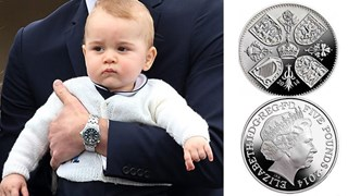 Commemorative coin to mark Prince George's birthday