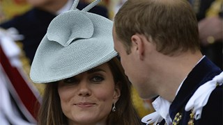 Kate Middleton and Prince William Order of the Garter service