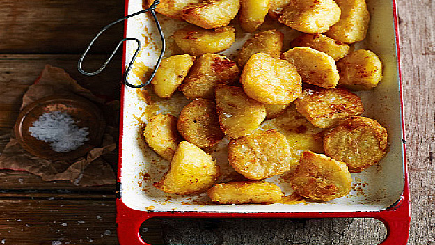 Salt and pepper roast potatoes