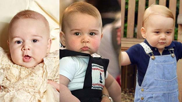 Prince George's magic milestones: Happy 1st birthday