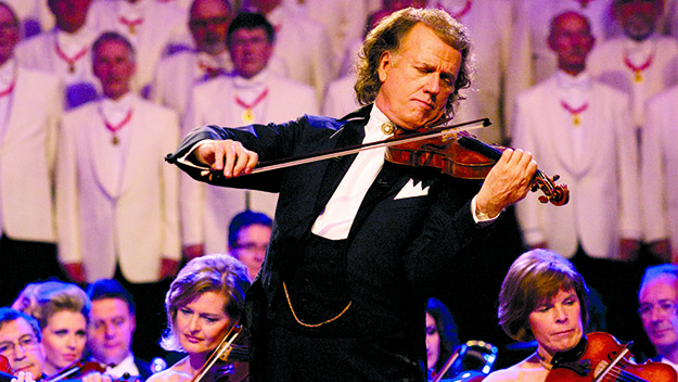 Interview: André Rieu's Maastricht concert in local cinemas