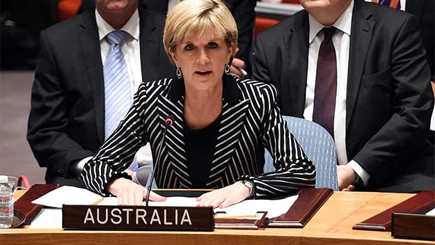 Julie Bishop demands access to MH17 site