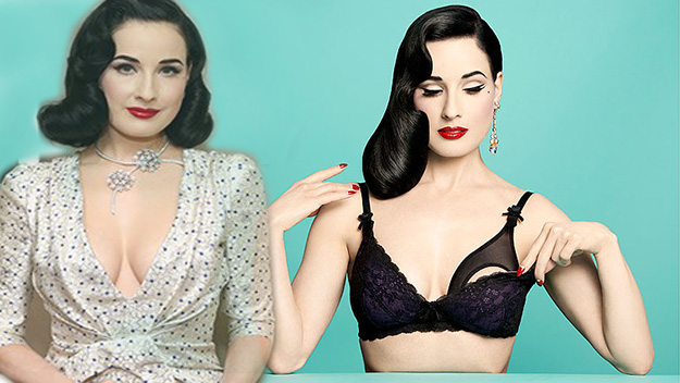 Dita Von Teese launches sexy maternity range