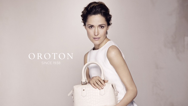 Rose Byrne is the new face of Oroton