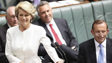 "Julie Bishop wore ""jimjams"" in meeting with the PM"