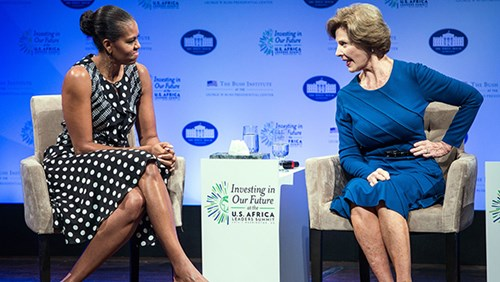 news michelle obama encourages arts education