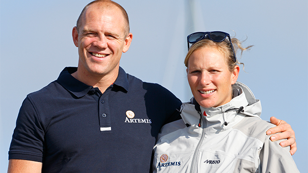 Zara Phillips and Mike Tindall discuss Mia