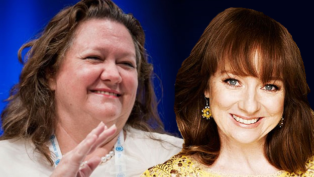 Mandy McElhinney to play Gina Rinehart
