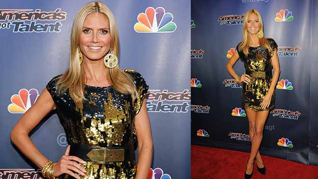 Heidi Klum and all that glitters