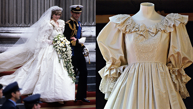 Diana's wedding dress to be returned to William and Harry