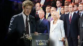Prince Harry Invictus Games 2014
