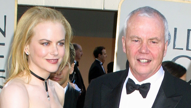 Nicole Kidman discusses her first Christmas without her dad
