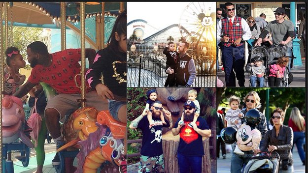 Super-hot dads on DILFs of Disneyland