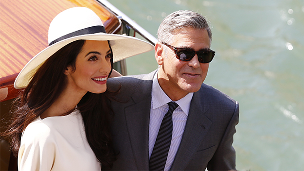 George and Amal make their marriage official