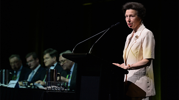 Princess Anne charms Queensland