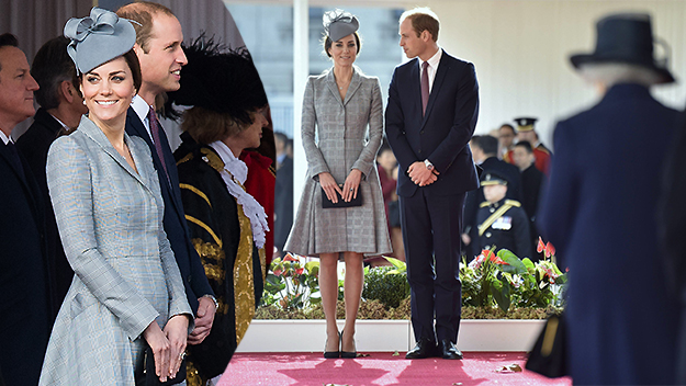 Pregnant Kate makes public appearance