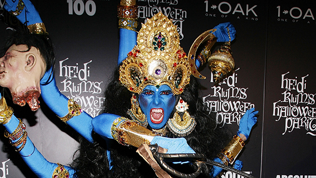 Craziest celebrity Halloween costumes