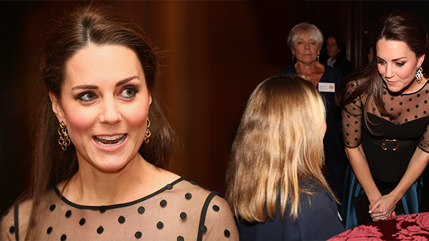 Kate hosts charity event at Kensington Palace