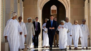 Prince Harry in mosque