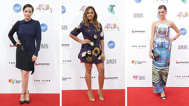 Aria Awards 2014: red carpet