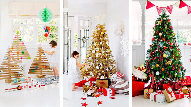 The Weekly's creative Christmas trees