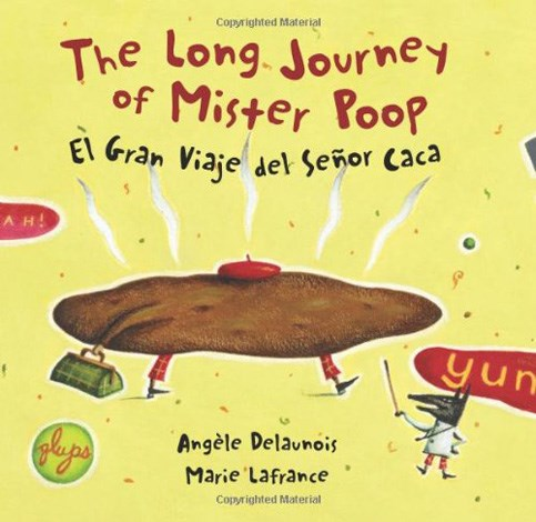 **The Long Journey of Mister Poop (2007)** This picture book (errrrrm… yuck!) is about exactly what you think it is about. A tale where the main character is the main character embodies the form of human excrement and attempts to explain how the digestive system works in a colourful kid-friendly way.