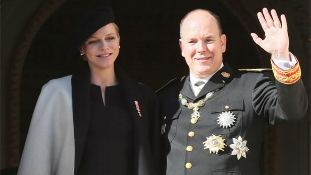 Princess Charlene and Prince Albert.