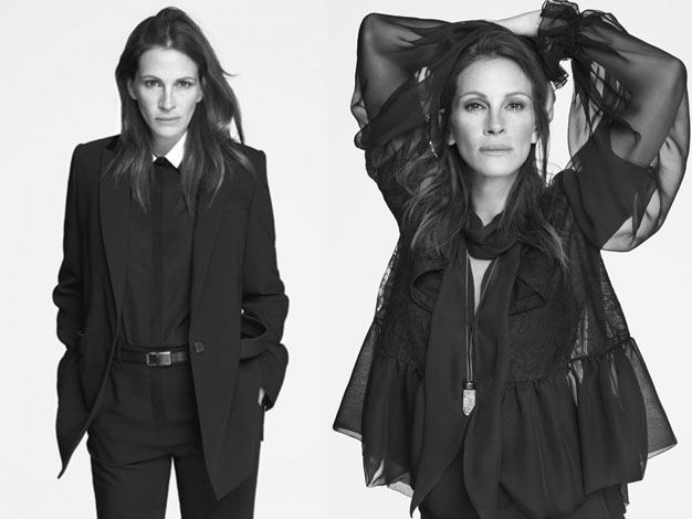 Julia Roberts is the new face of Givenchy and joins other mature aged celebrities who front major fashion campaigns