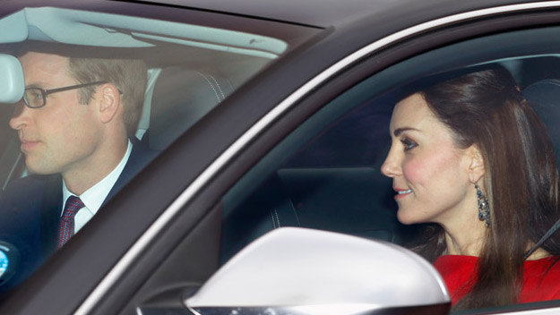Duchess of Cambridge looks glam at the Queen's Christmas lunch