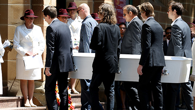 Tears at funeral for Tori, Sydney siege victim