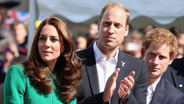 Prince William, the Duchess of Cambridge and Prince Harry join Twitter