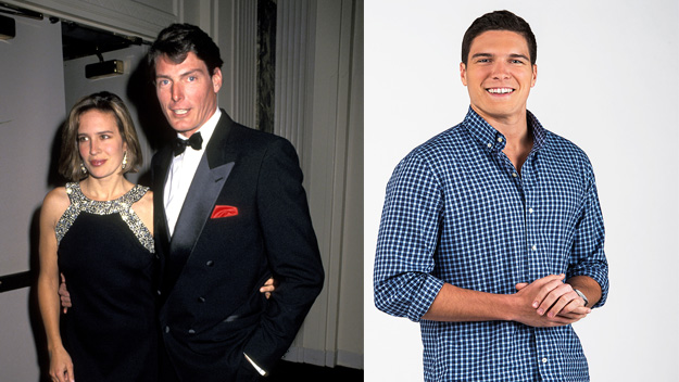Super handsome! Christopher Reeve's good looking son's new job on TV