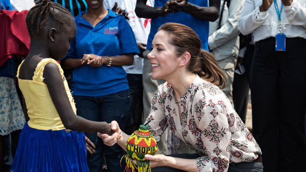 Exclusive new pics: Princess Mary works for women's rights in Ethiopia