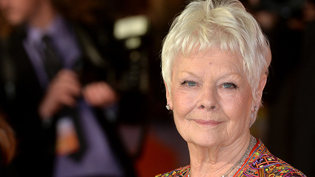 Dame Judi Dench admits she can't travel alone due to failing eyesight