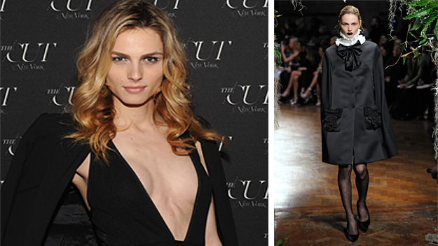 Andreja Pejic's post-transition catwalk debut