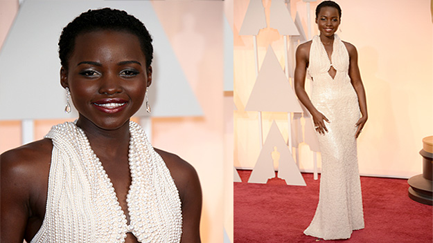 Someone stole Lupita Nyong'o's Oscar's dress