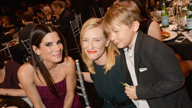 Cate's son Ignatius was her adorable date for the Critic's Choice Awards last year.
