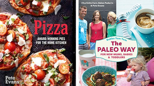 Pete Evans, who once prided himself on his pizza recipes, is now endorsing a Paleo diet for babies.