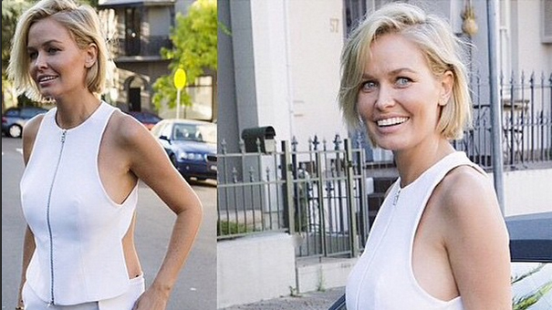 Lara Bingle Worthington gives birth