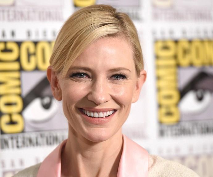 Australian Oscar winner Cate Blanchett