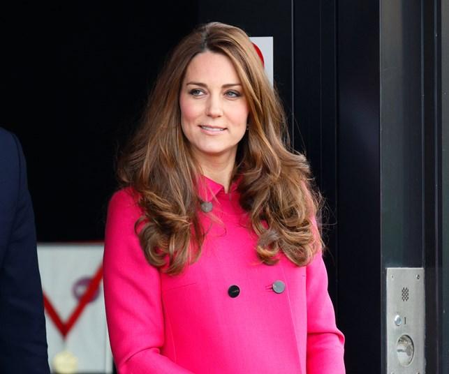 Kate Middleton pink coat