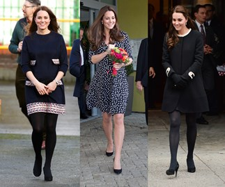 Kate Middleton's amazing maternity style