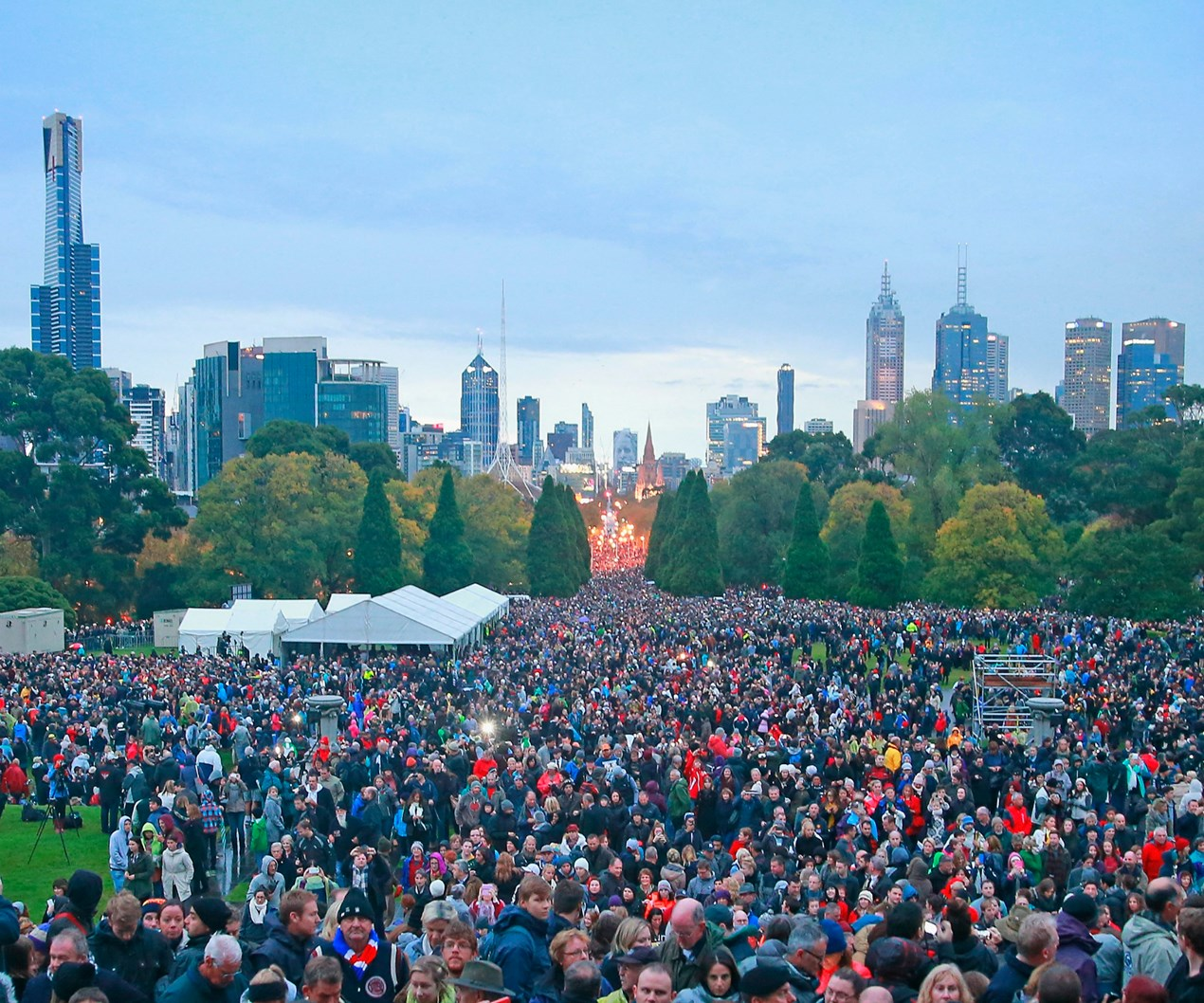ANZAC Day across the world