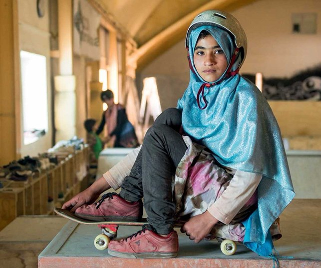 Meet the girls from Kabul skating for empowerment